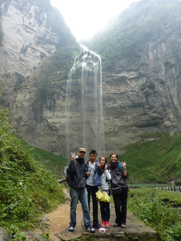 Liusha, la cascata più alta della Cina