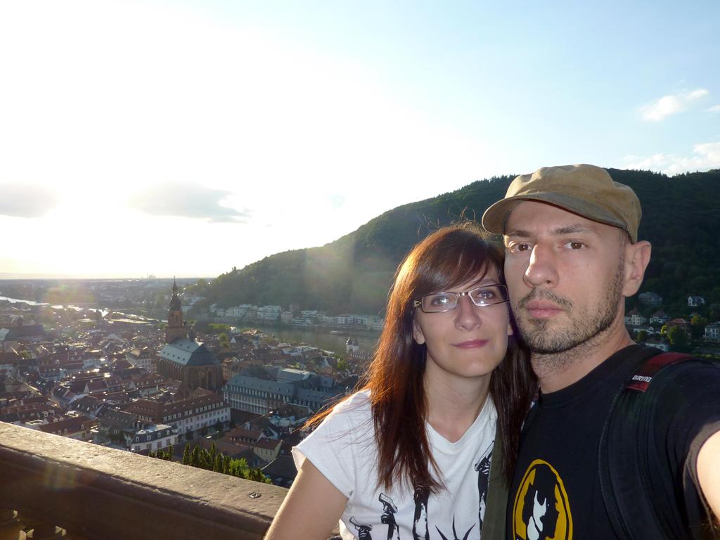 Heidelberg vista dal castello