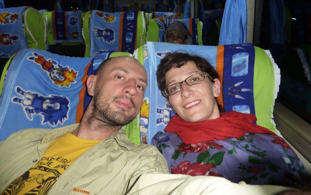 In autobus da Makassar a Tana Toraja