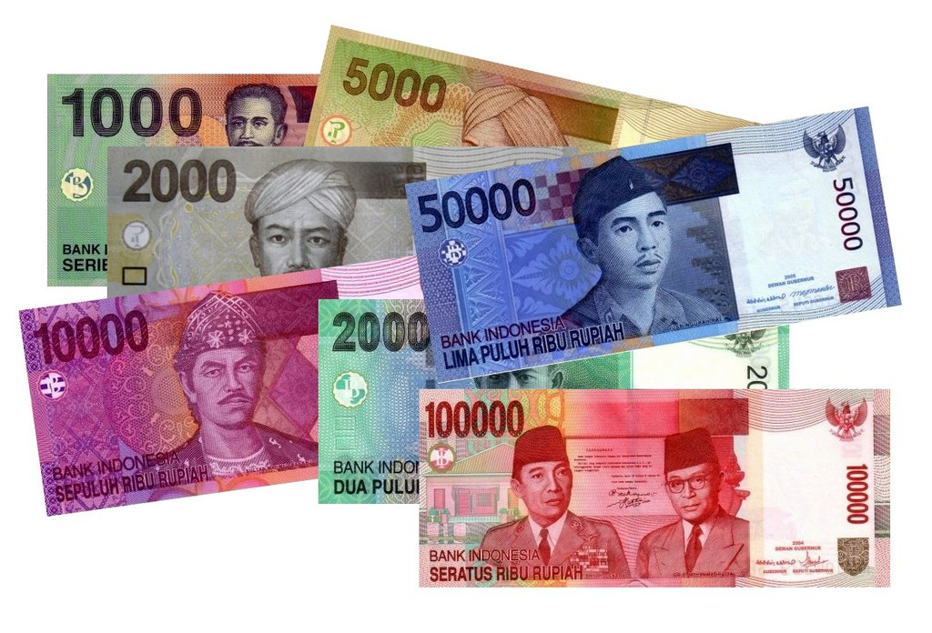 banconote di rupie indonesiane