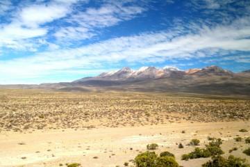 Lo spettacolare deserto tra a Arequipa e Puno