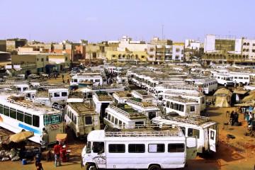 Transport for Dakar.