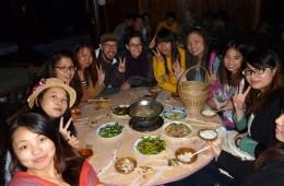 Cose da fare in Cina. Pranzo con amici locali