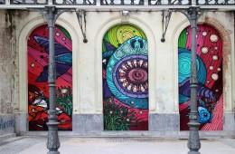 graffiti di anversa e street art: Dzia e Gijs Vanhee