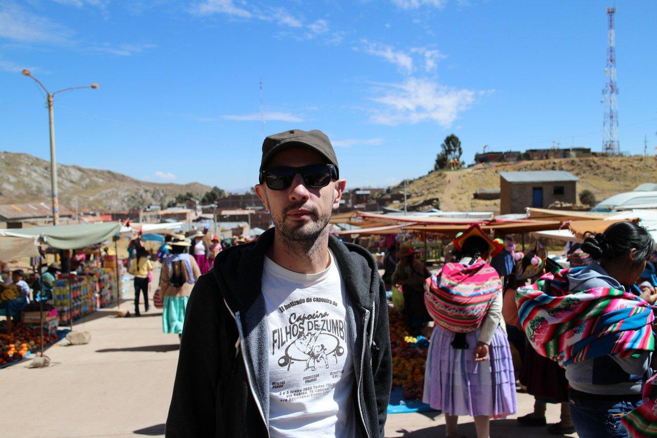 lago titicaca fai da te: il mercato di capachica