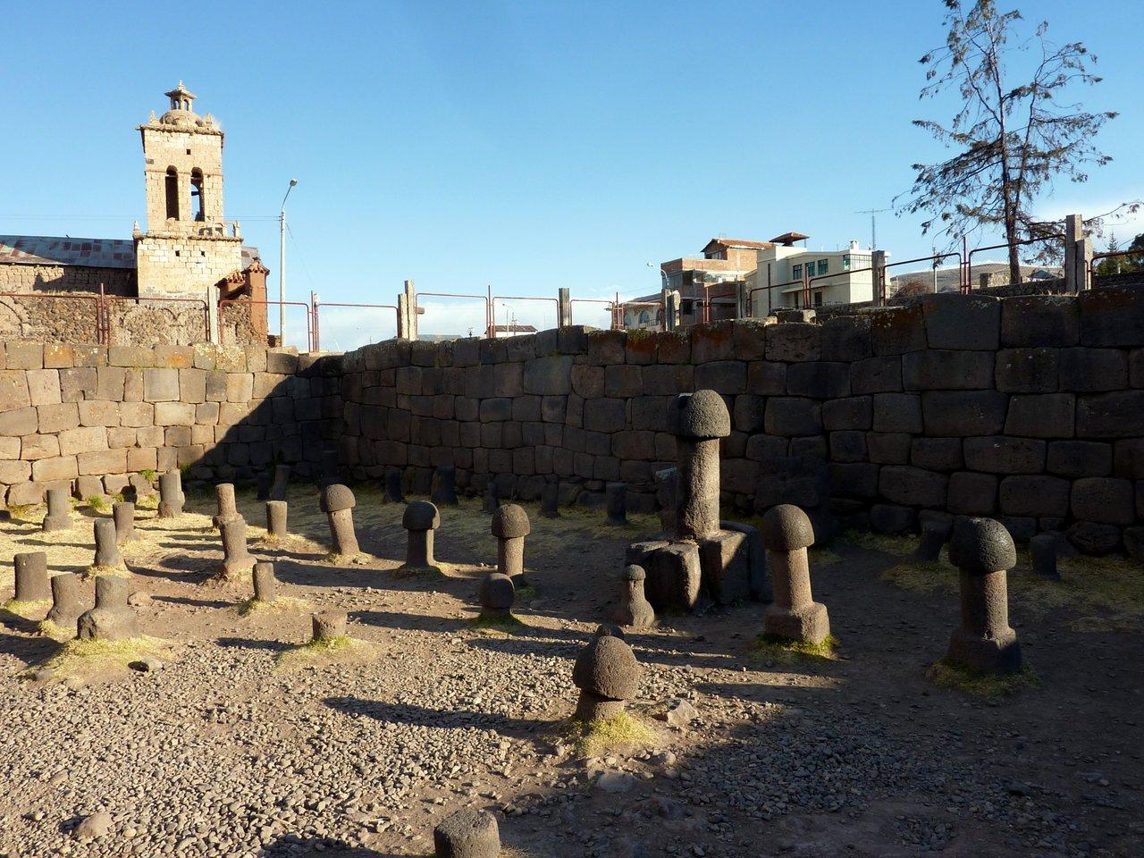 lago titicaca fai da te: il tempio di Chucuito