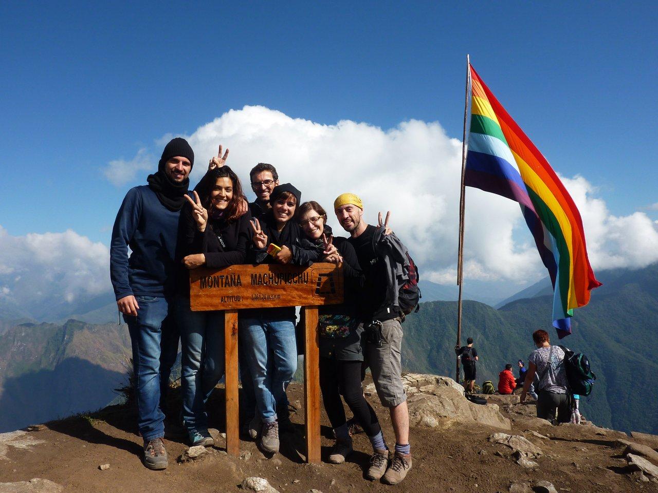 Machu Picchu low cost: Stremati dopo la scalata di Montaña