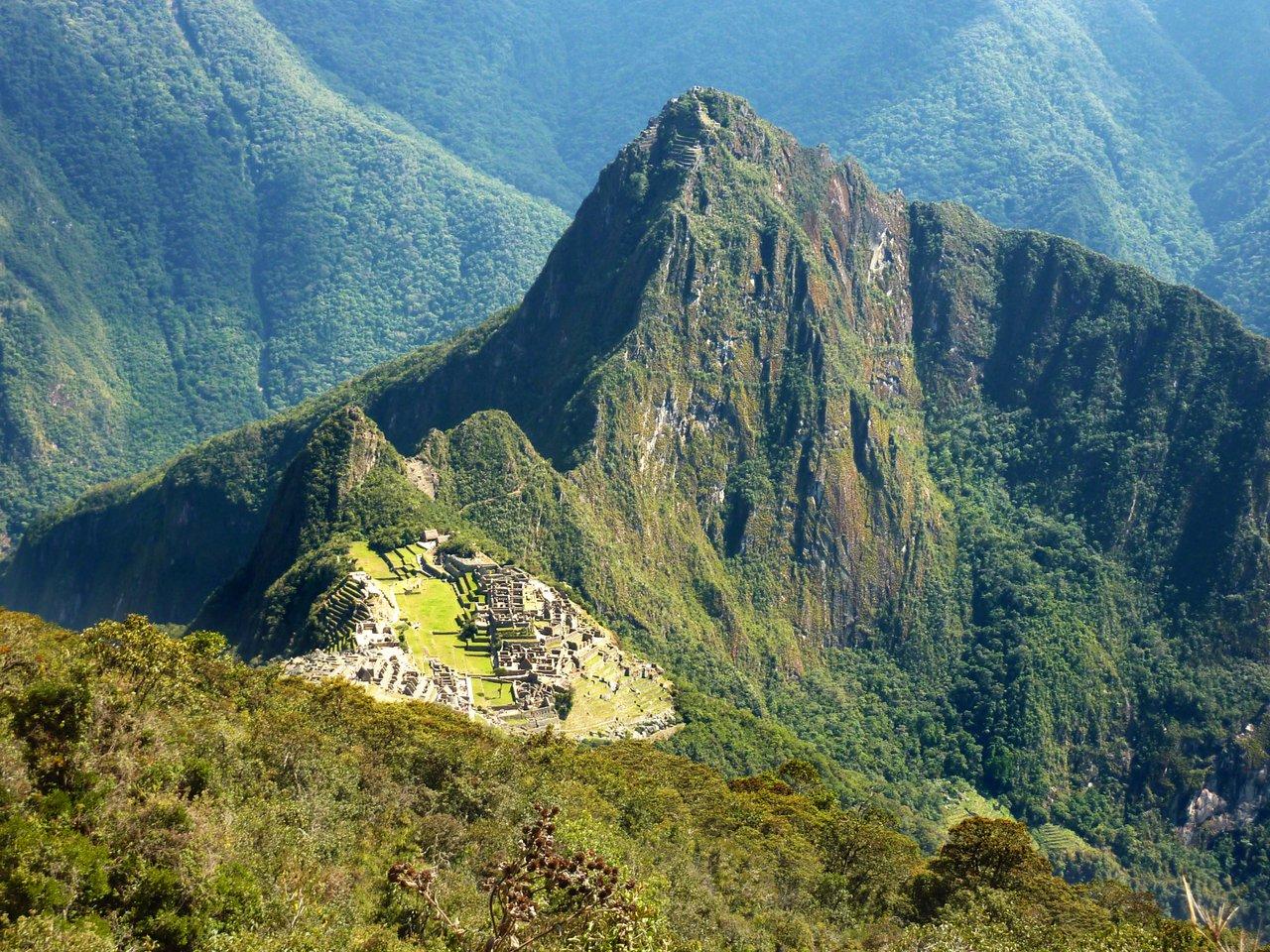 Machu Picchu low cost: veduta da Cerro Machu Picchu