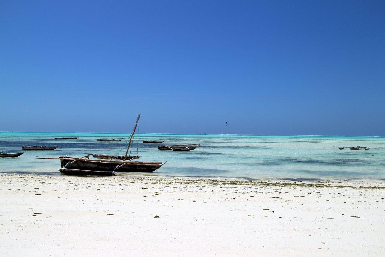 zanzibar fai da te: spiaggia di Jambiani