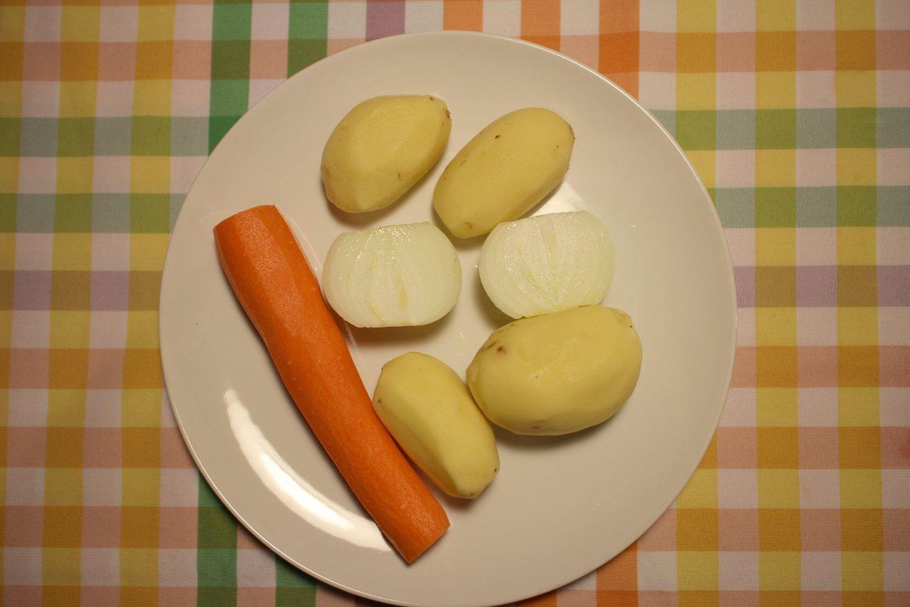 Riso pilau ricetta. Verdure