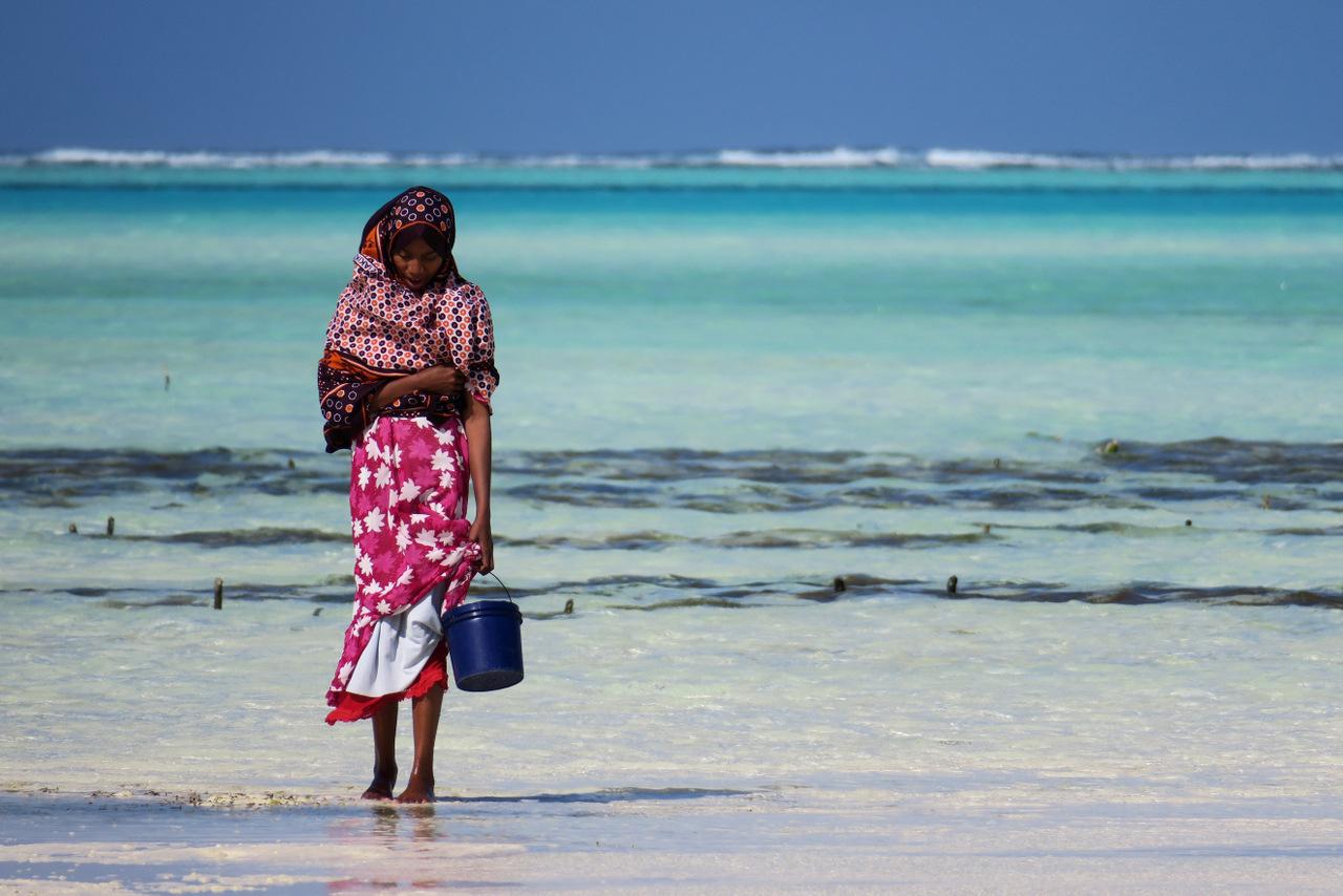 spiaggia di jambiani a zanzibar