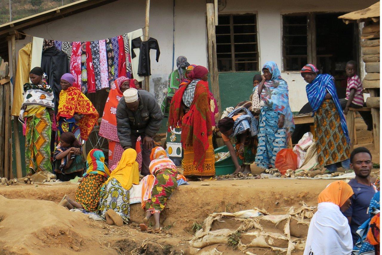 escursione nelle montagne usambara: il mercato di mombo