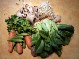 verdure cinesi