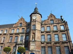 il municipio di Düsseldorf