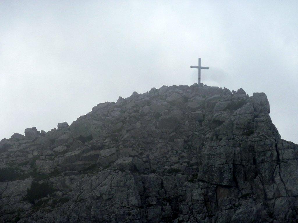 cima del croz dell'altissimo con croce