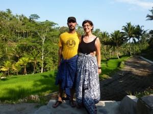La discesa al Gunung Kawi