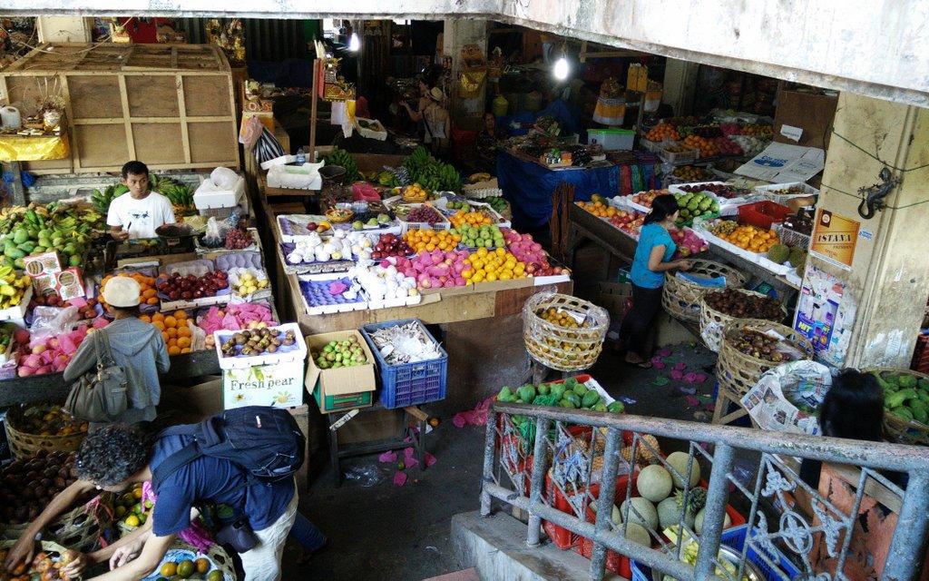 il mercato coperto di Ubud