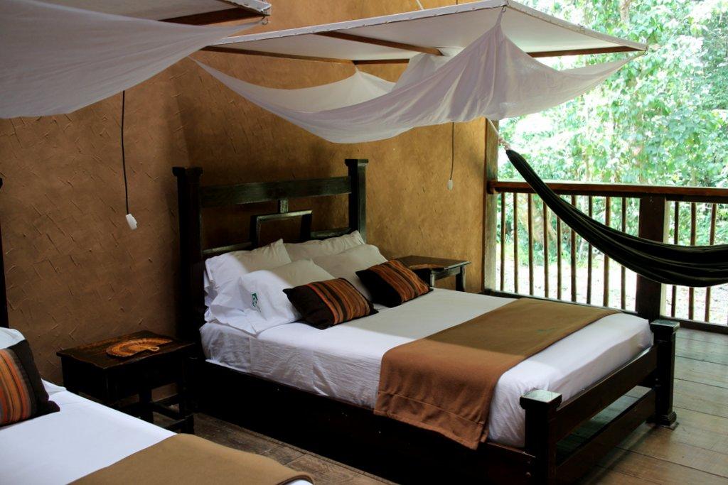 stanza con vista foresta a Posada Amazonas