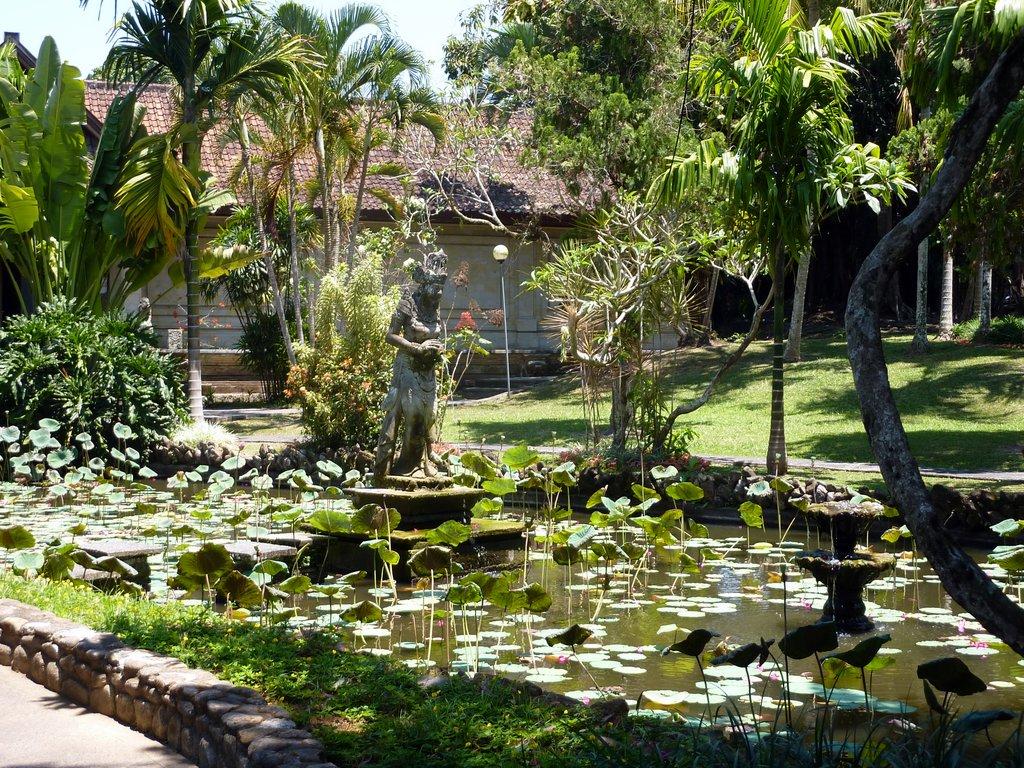 I giardini del Puri Lukisan Museum