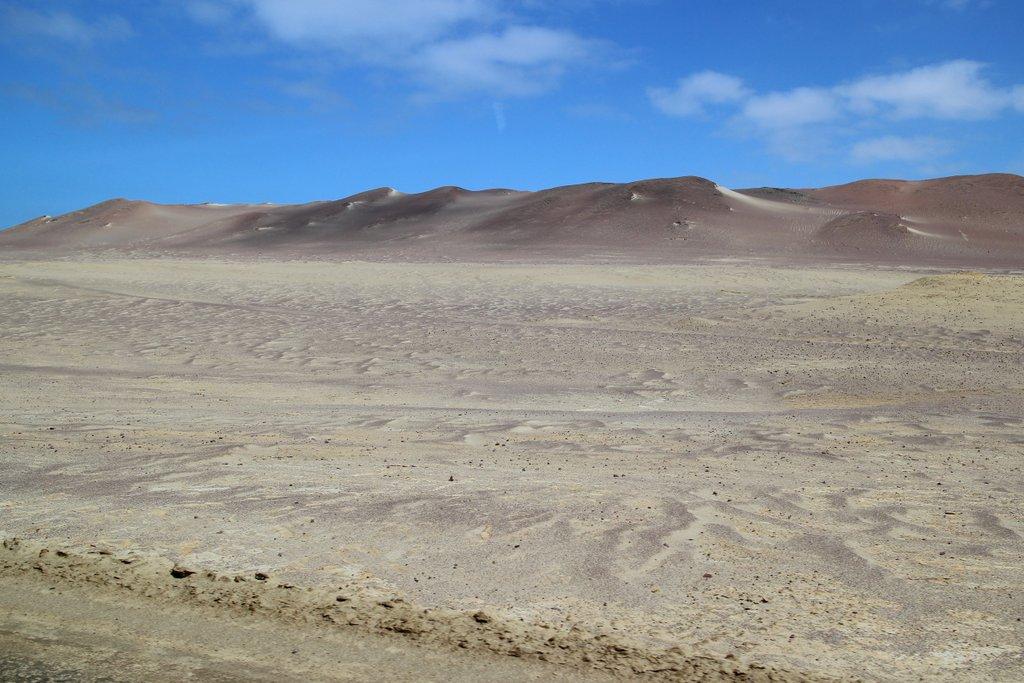 Il deserto della penisola di Paracas