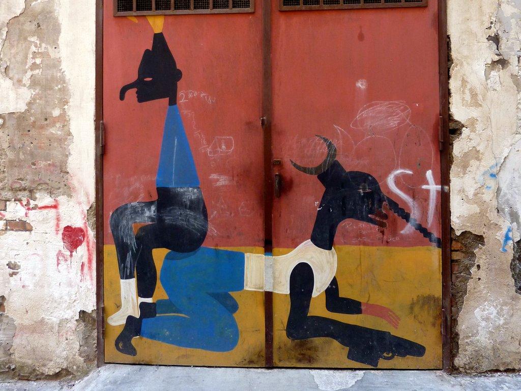 I murales nei quartieri spagnoli di Napoli