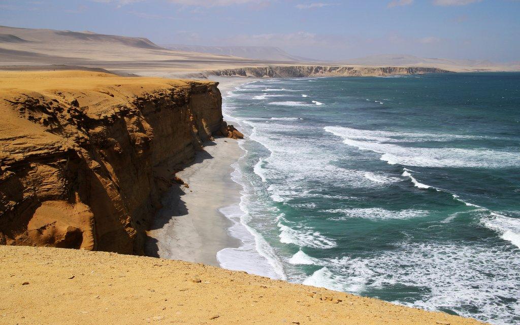 Le scogliere della penisola di Paracas