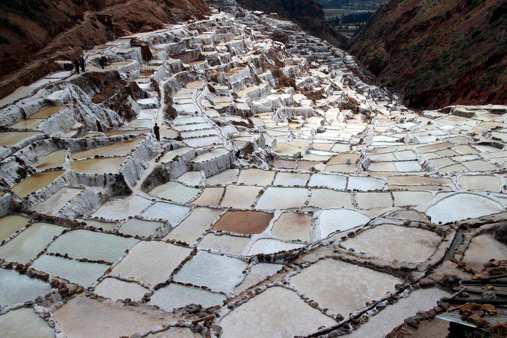 Le saline di Maras nella Valle Sacra