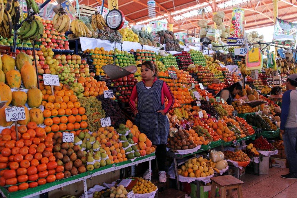 Il mercato San Camilo di Arequipa
