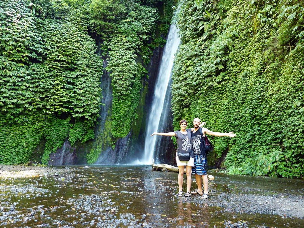 La cascata di Munduk