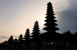 Le pagode del Pura Taman Ayun