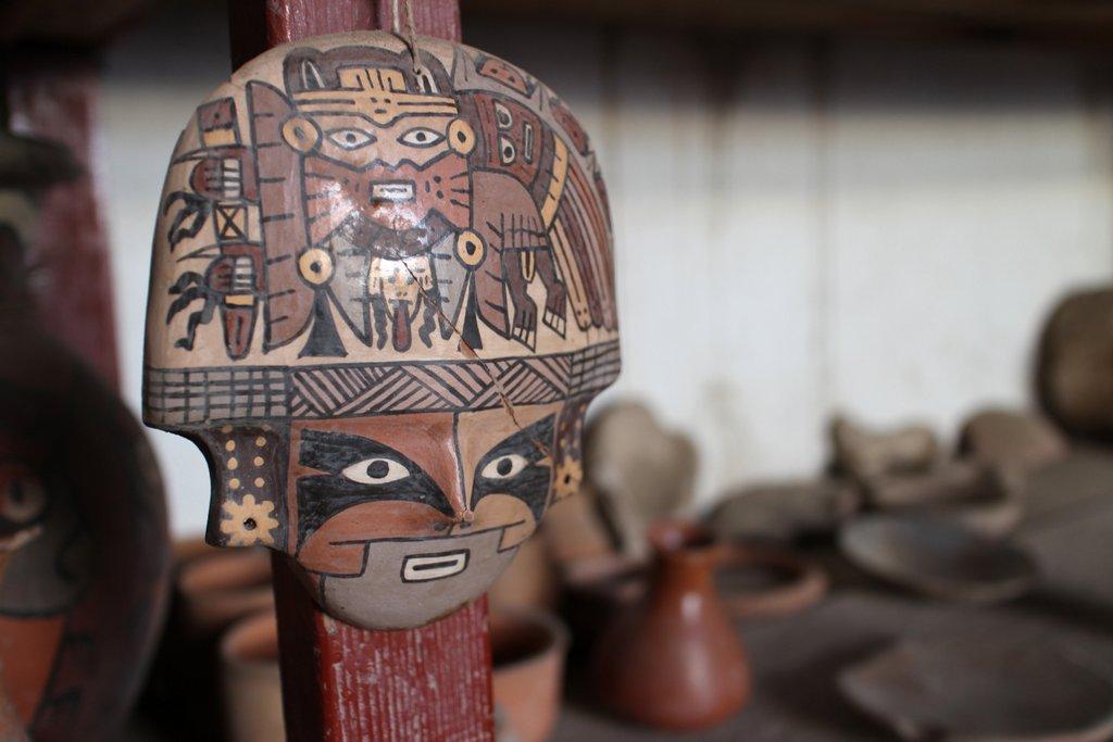 artigianato peruviano: ceramica nazca