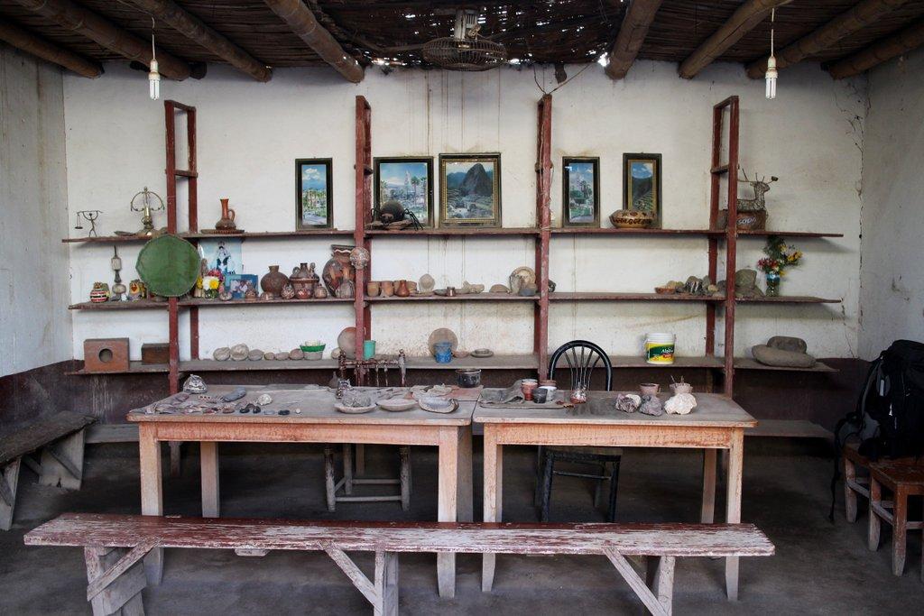 artigianato peruviano: laboratorio di ceramica
