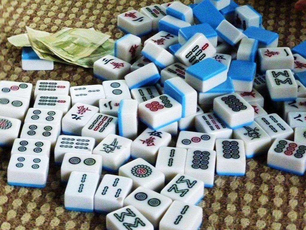 Cose da fae in cina. Mahjong