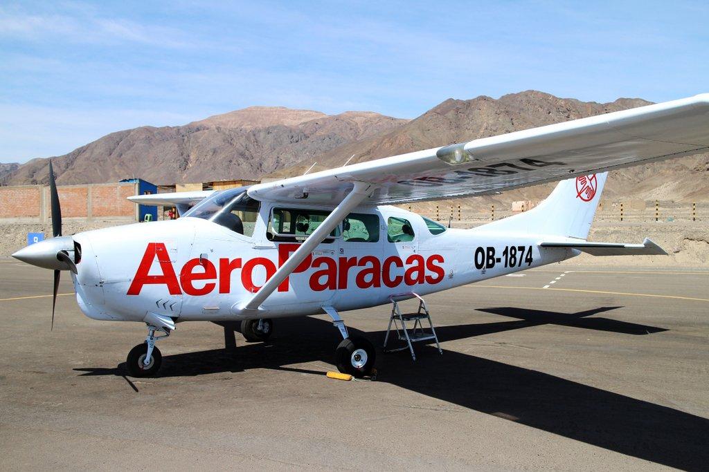 Linee di Nazca. L'aereo 6 posti