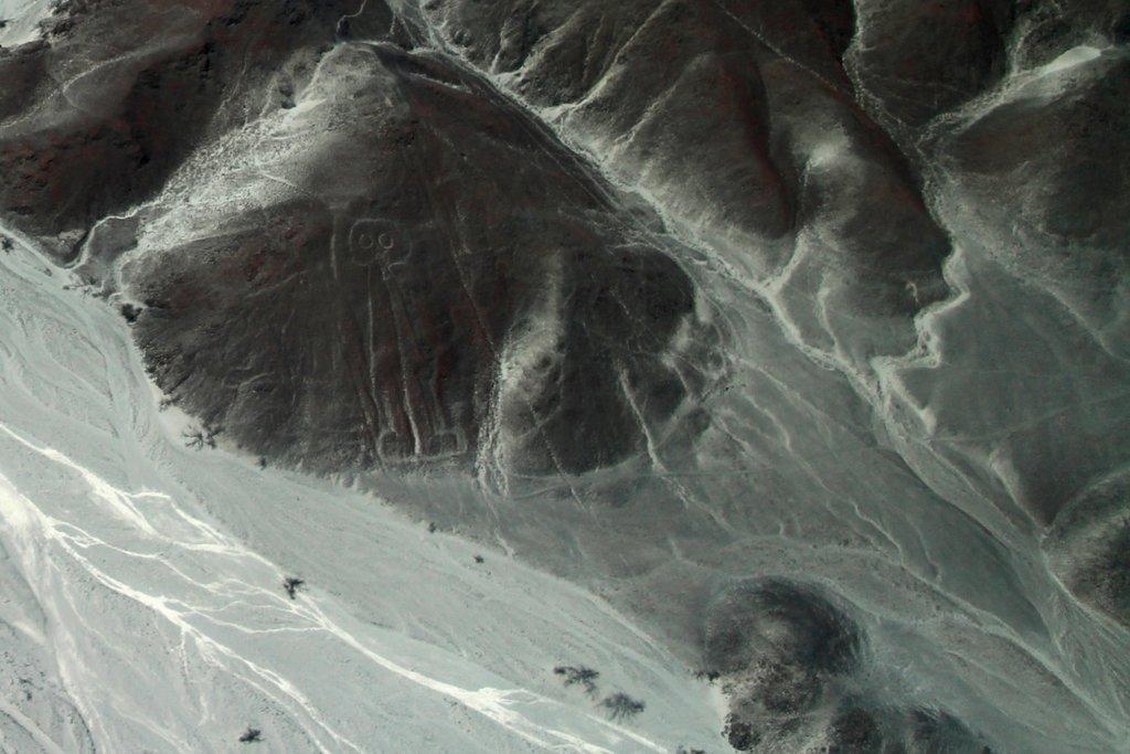 Linee di Nazca. L'astronauta