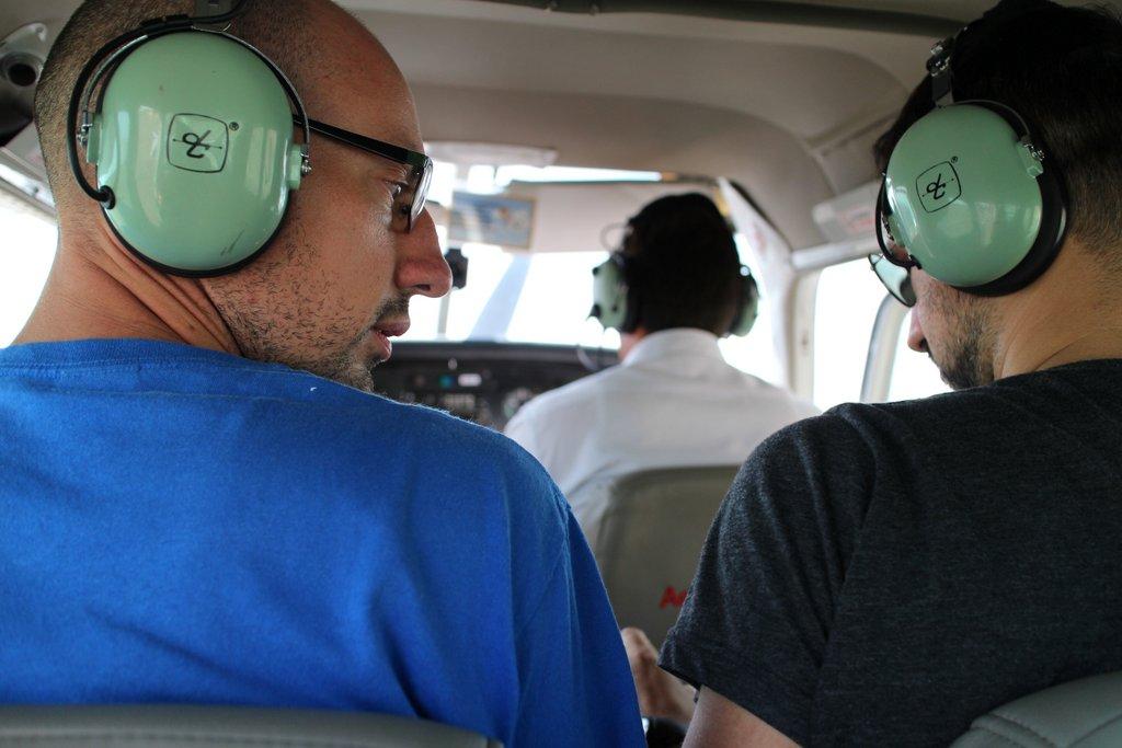 Linee di Nazca. A bordo dell'aereo