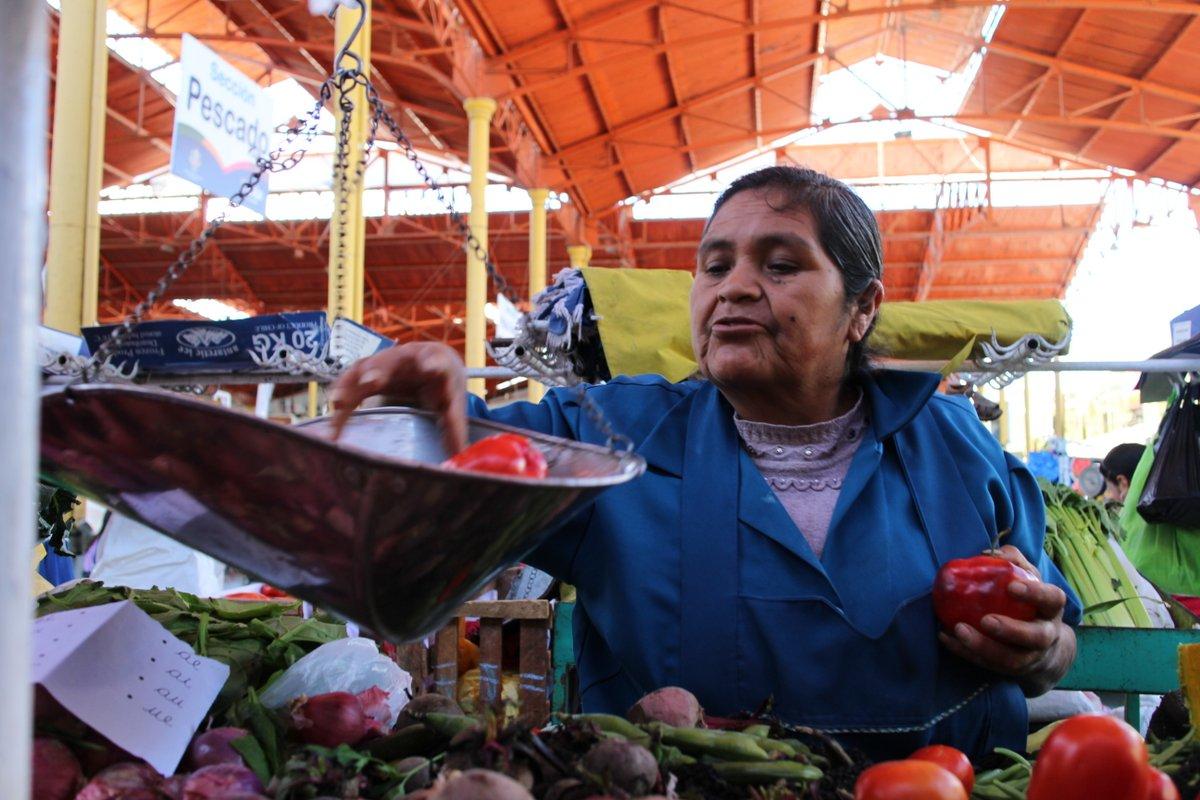 mercato coperto di san camilo: venditori