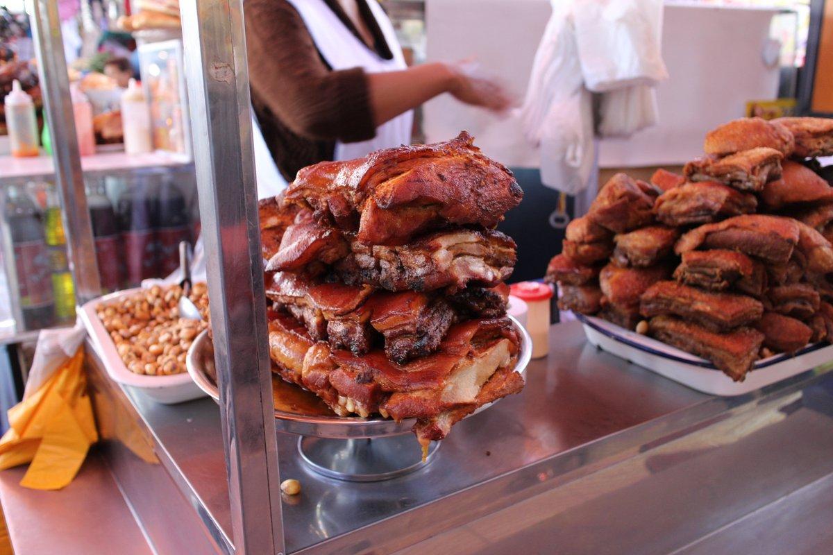 mercato coperto di san camilo: street food