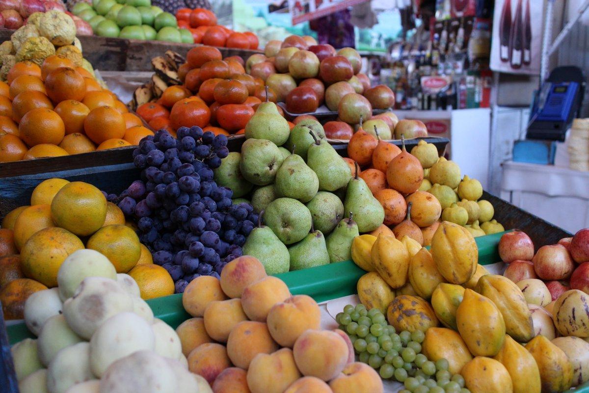 mercato coperto di san camilo: frutta