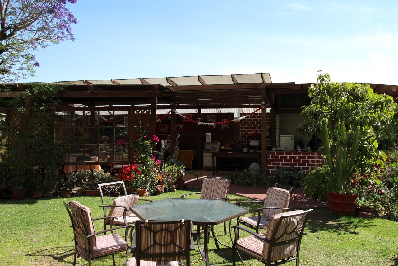Il cortile di Casa de Avila ad Arequipa