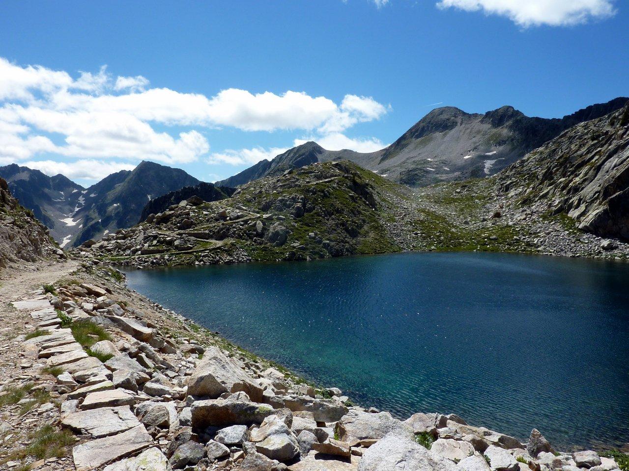 escursione ai laghi di fremamorta lago mediano