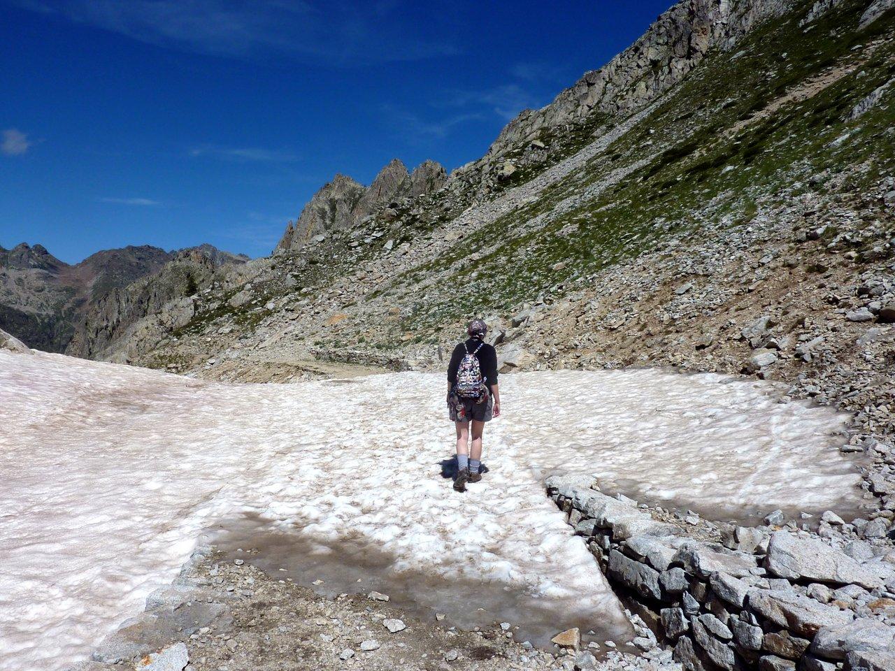escursione ai laghi di fremamorta nevaio