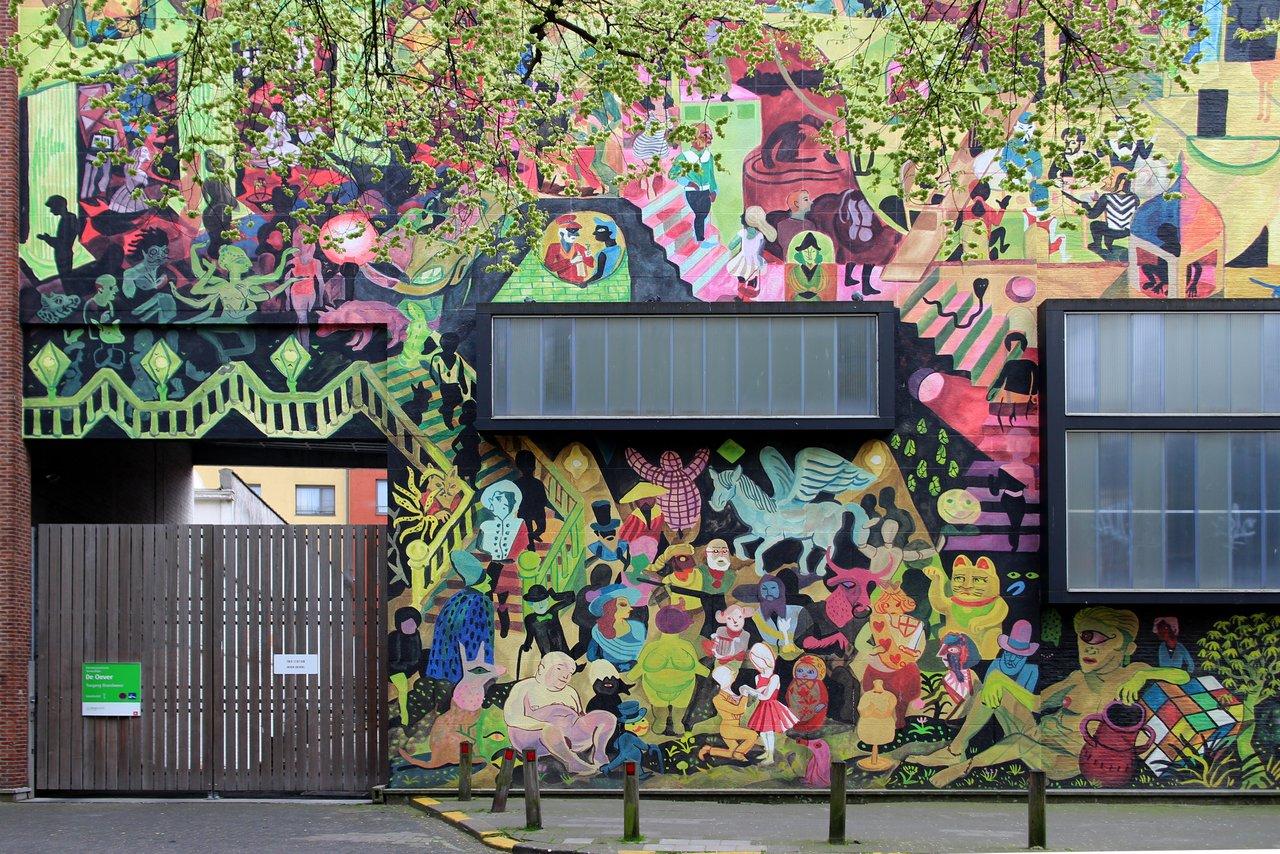 graffiti di anversa e street art