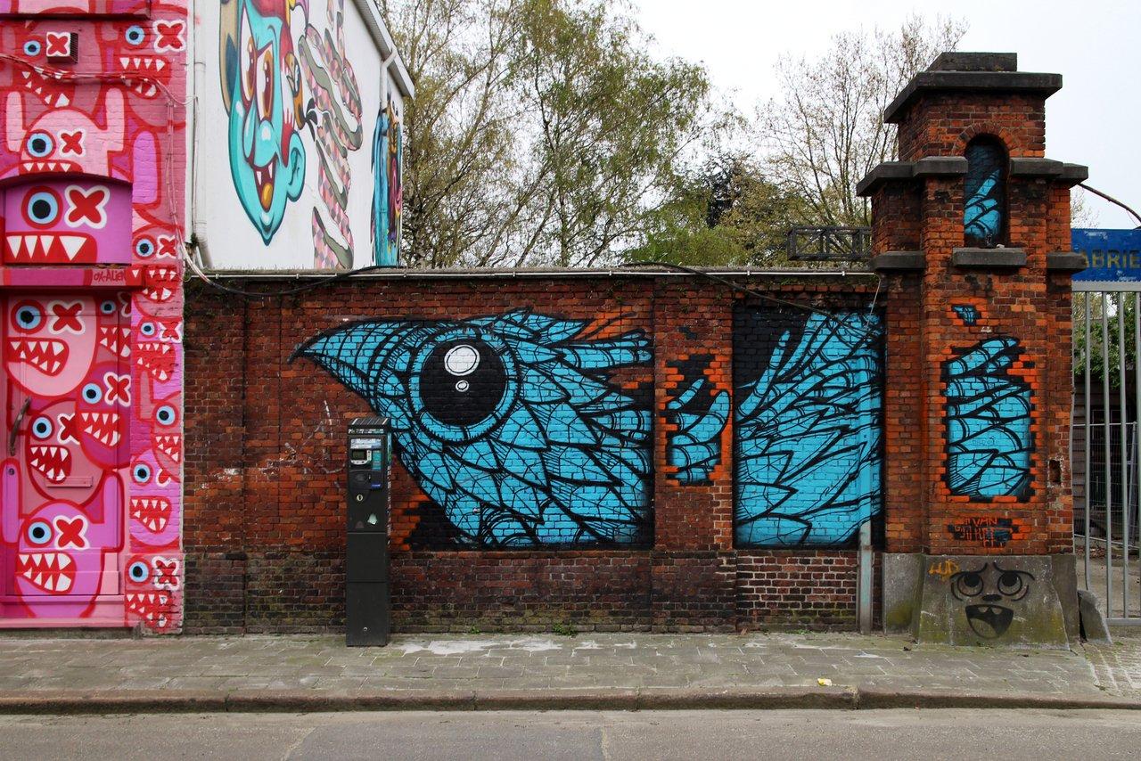 graffiti di anversa e street art: New Zuremborg