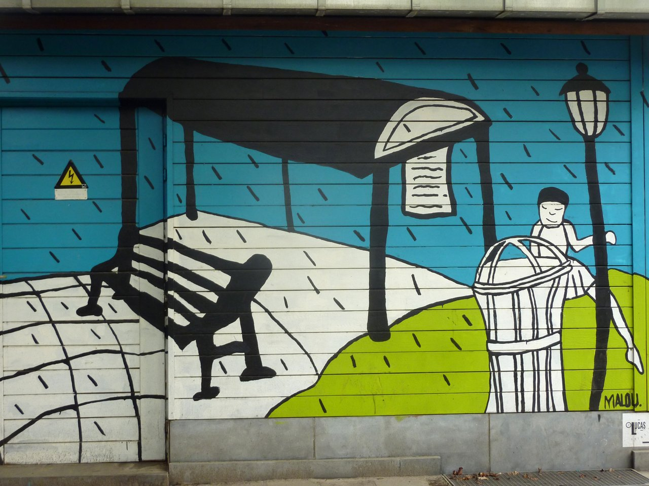 graffiti di anversa e street art: Harmoniepark.