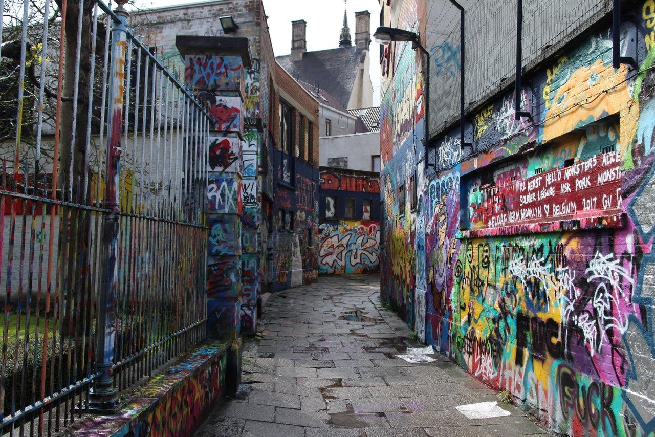 Street art e Graffiti di Gent: Werregarenstraat