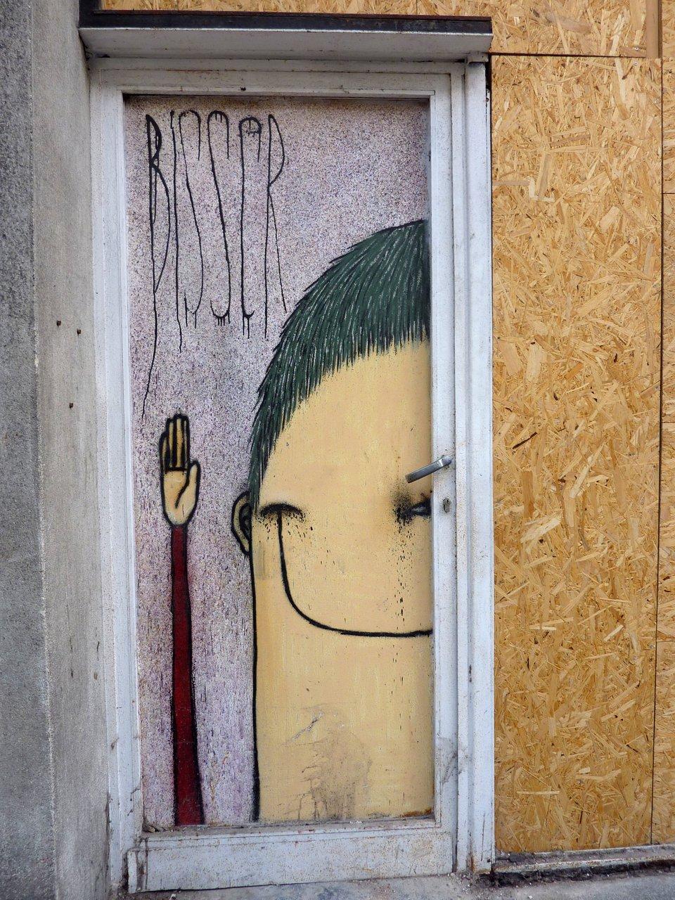 Street art e Graffiti di Gent: Bisser