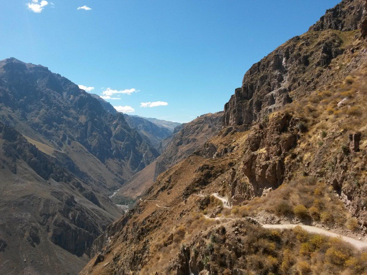 canyon del colca trekking: la partenza