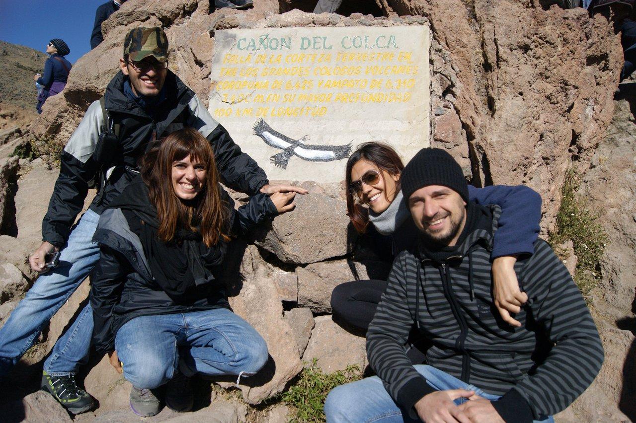 canyon del colca trekking: mirador cruz del condor