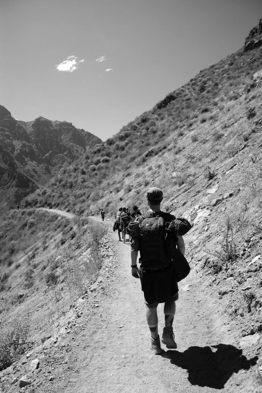 canyon del colca trekking